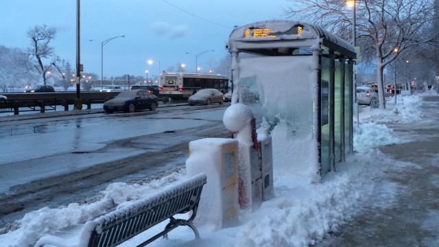 snowy-commute